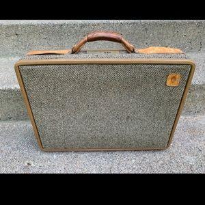 Vtg Hartmann Luggage Belting Leather Attaché Bag